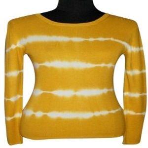 MICHAEL Michael Kors Sweaters - Michael Kors - Yellow & White stripes Sweater - S
